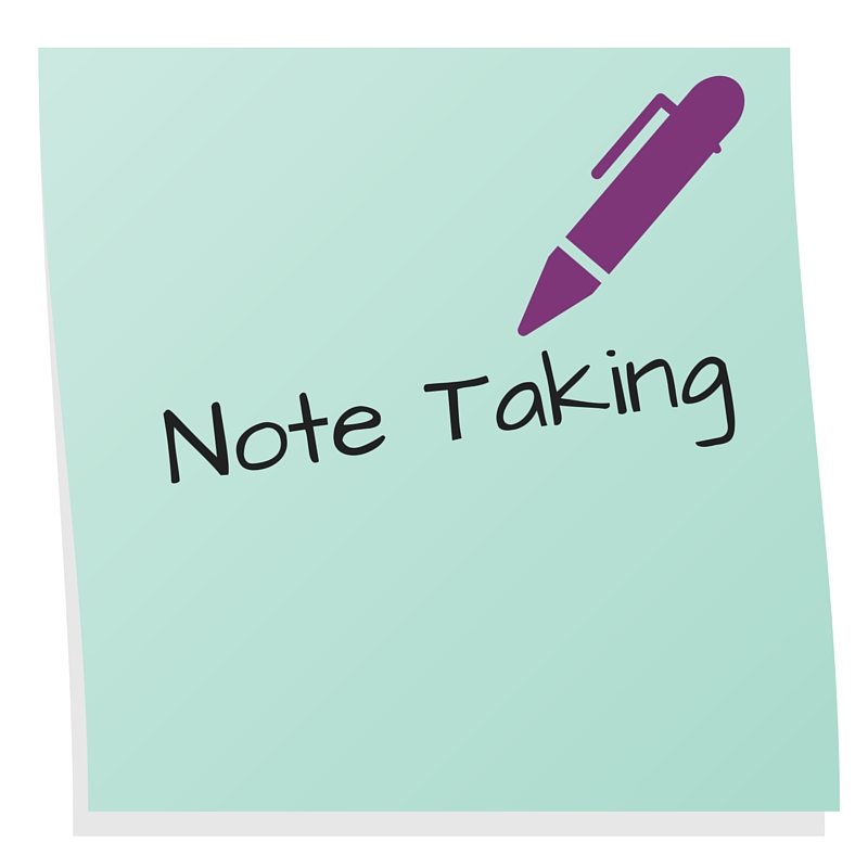 AT Note taking
