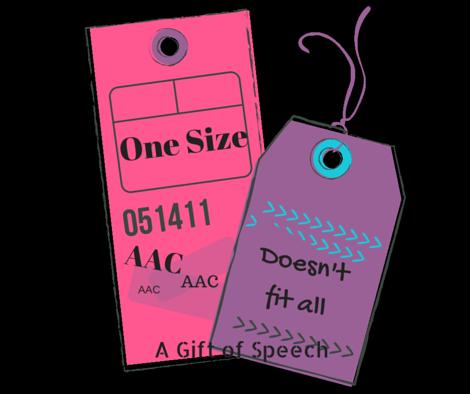 AAC Individualized vocabulary