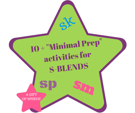 10 Fun and Easy Ideas to Target S-Blends