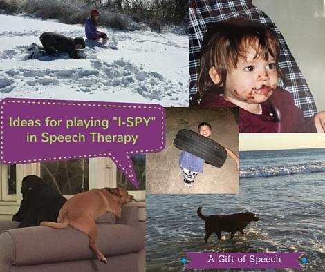 I spy for speech therapy