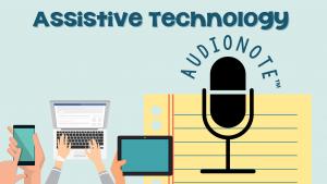 assistive technology audionote
