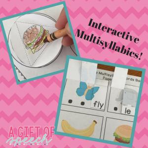 Interactive Multisyllabic Words