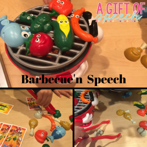 Articulation therapy ideas with Barbecue'n Speech