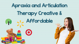 apraxia and articulation therapy