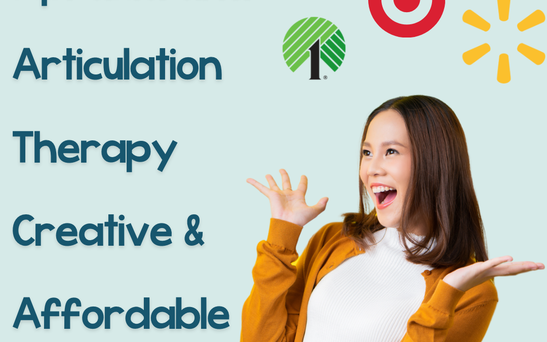 Apraxia and Articulation Therapy Creative & Affordable