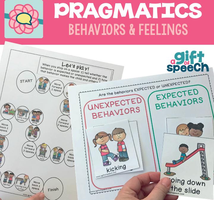 Pragmatic language, not bad behavior!