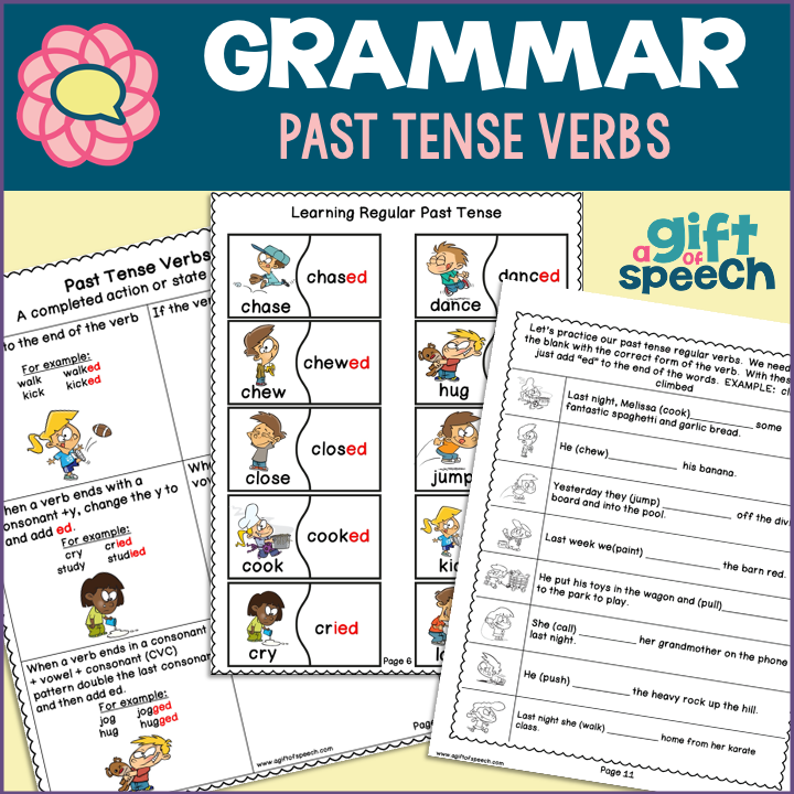 Teach, Practice, and Learn Past Tense Verbs